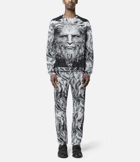 Christopher Kane Disney Beauty & the Beast Inspired Collection Beast Sweatshirt