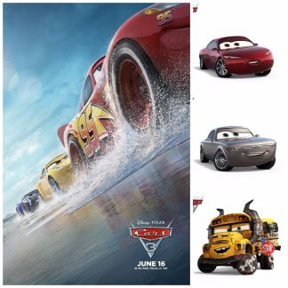 Cars 3 Collage