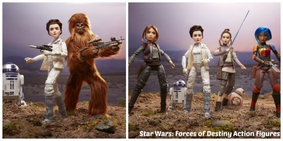 Star Wars Forces of Destiny Action Figures