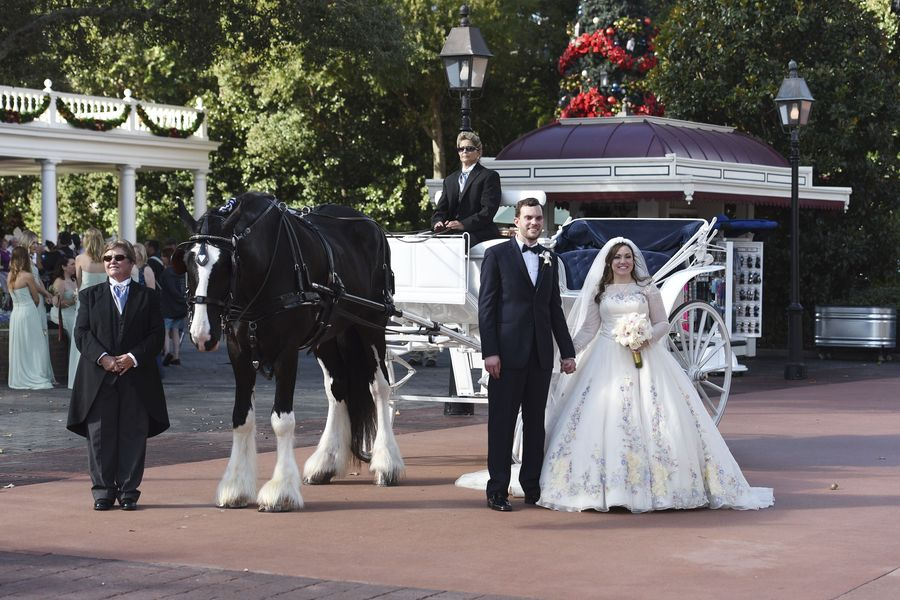 Disney Fairytale Weddings Special Taylor & Tyler at wdw