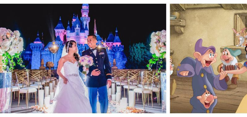 Disney fairy tale wedding program event
