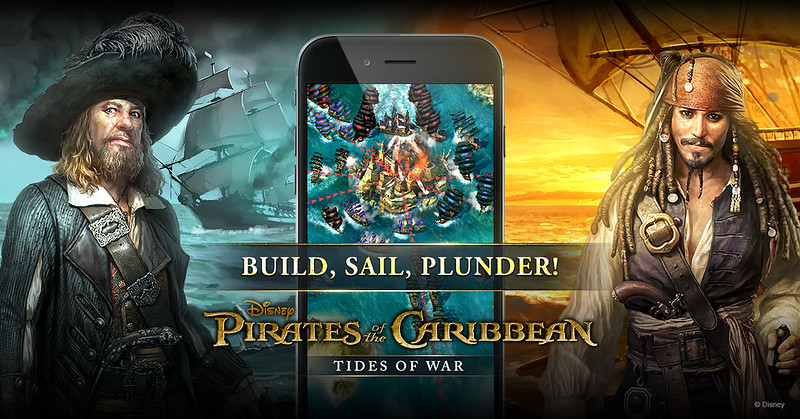 Pirates of the caribbean Tides of War