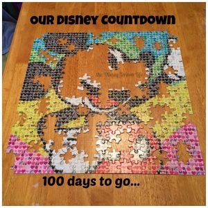 Disney Countdown 100 days