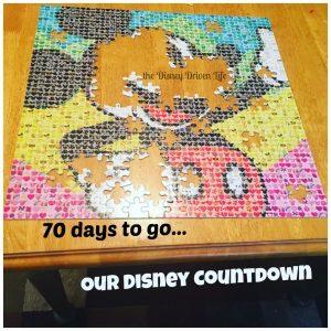 Disney Countdown 70 days