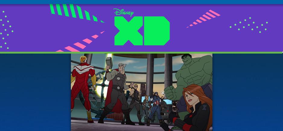 disney xd marvel avengers