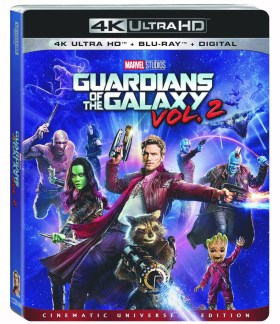 Guardians of the Galaxy Vol 2 BluRay