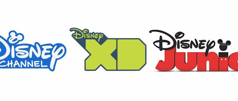 disney channel logo collage