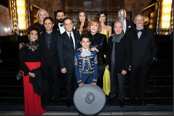"Disney•Pixar's ""Coco"" Mexico City Premiere at Palacio de Bellas Artes"