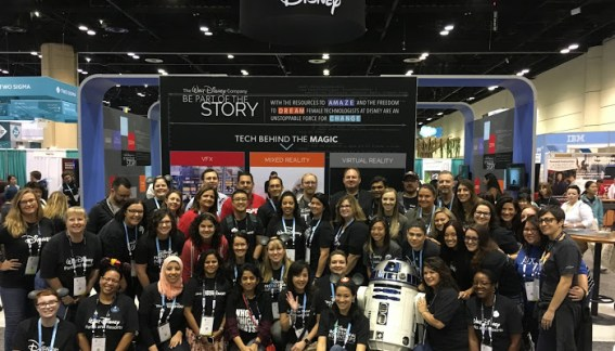 Grace Hopper Conference DIsney