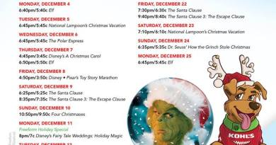 25 days of christmas freeform