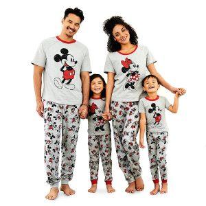Disney Store Family Pajama Set