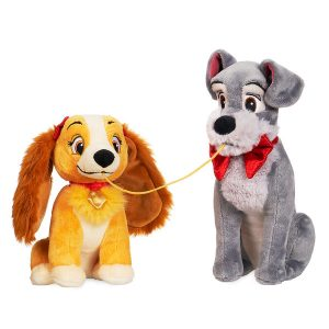 Disney Store Lady and the Tramp Plush