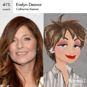 Evelyn Deavor Incredibles 2