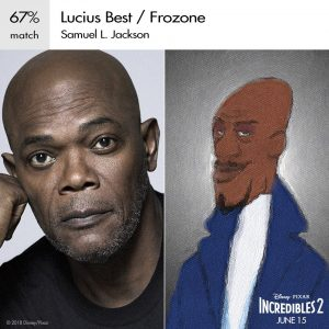 Frozone Incredibles 2