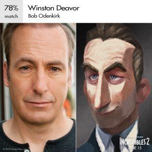 Winston Deavor Incredibles 2