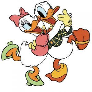 Donald duck daisy duck