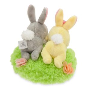 Thumper and Miss Bunny Plush Easter Basket Set