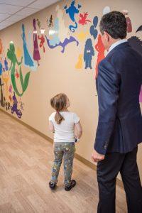 Blank Childrens Hospital Bob Iger dedication