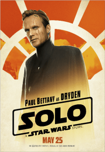 Solo A Star Wars Story Dryden