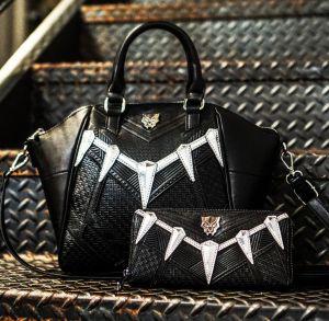 Marvel Black Panther Cosplay Crossbody Bag & Wallet
