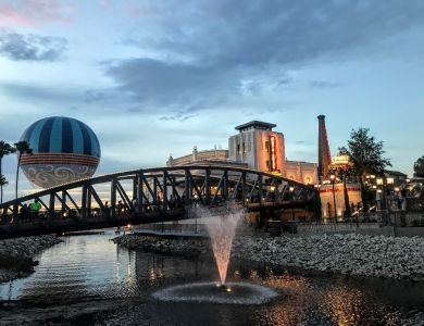 Magical Night at Disney Springs - Wordless Wednesday