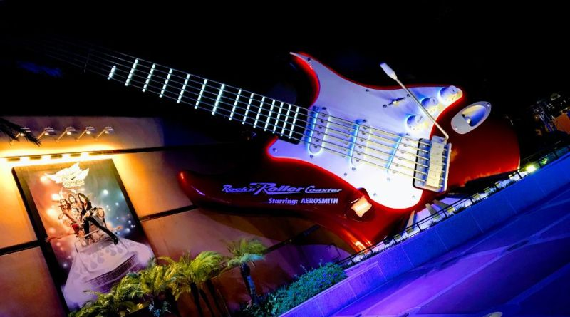 Rockin' rollercoaster Hollywood Studios Aerosmith