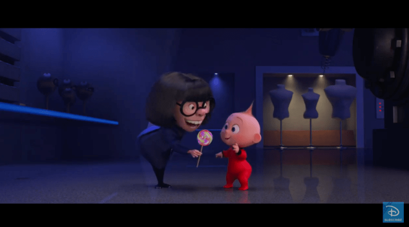 auntie edna jack jack incredibles 2