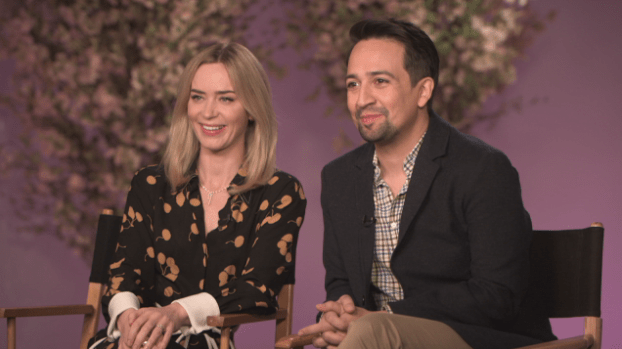 2020 features first TV interviews with Mary Poppins Returns stars Emily Blunt and Lin-Manuel Miranda