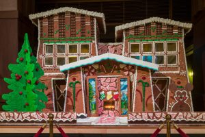"""Grand"" Gingerbread House and Holiday Treats at  Disney's Grand Californian Hotel & Spa"