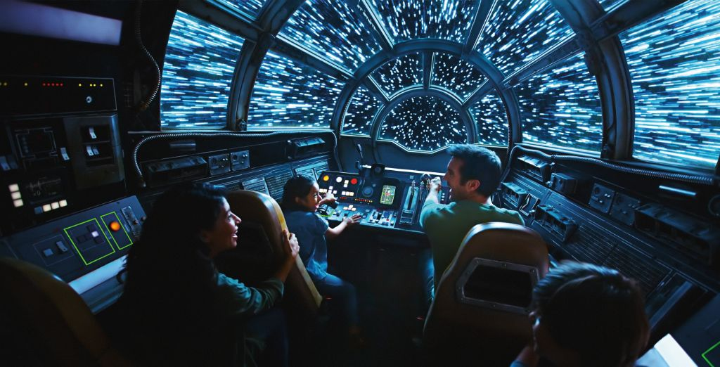 Star Wars Galaxy Edge Millennium Falcon