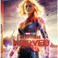 Captain Marvel BluRay DVD