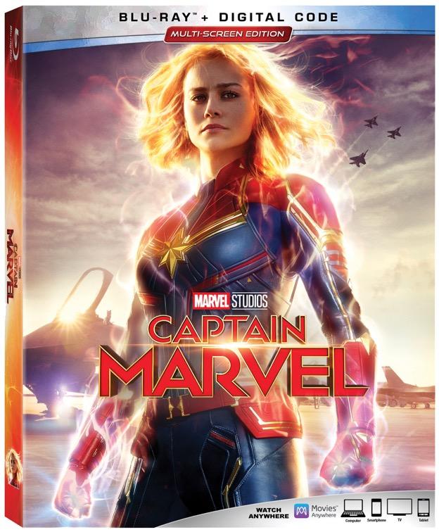 Captain Marvel BluRay DVD