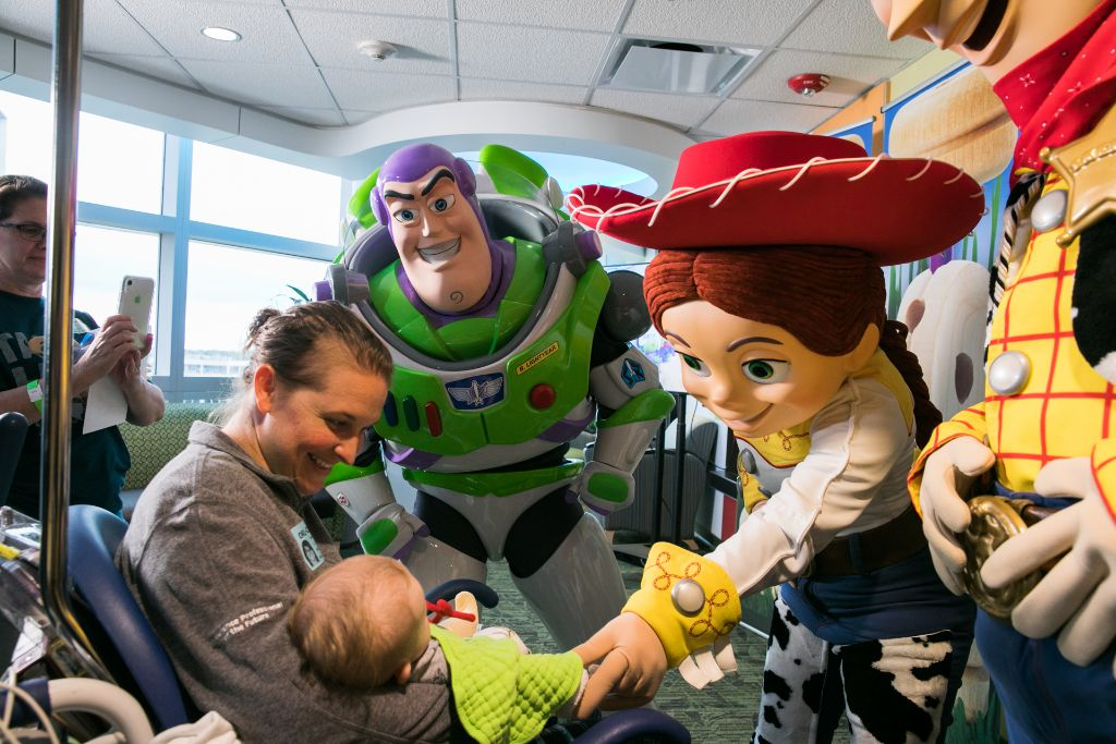 'Toy Story 4' Stars Help Kick Off Annual Disney Toy Delivery Program