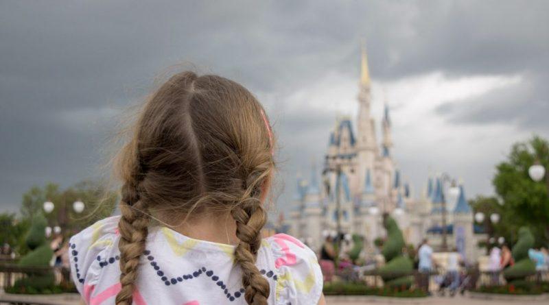 Looking Back to Cinderella Castle