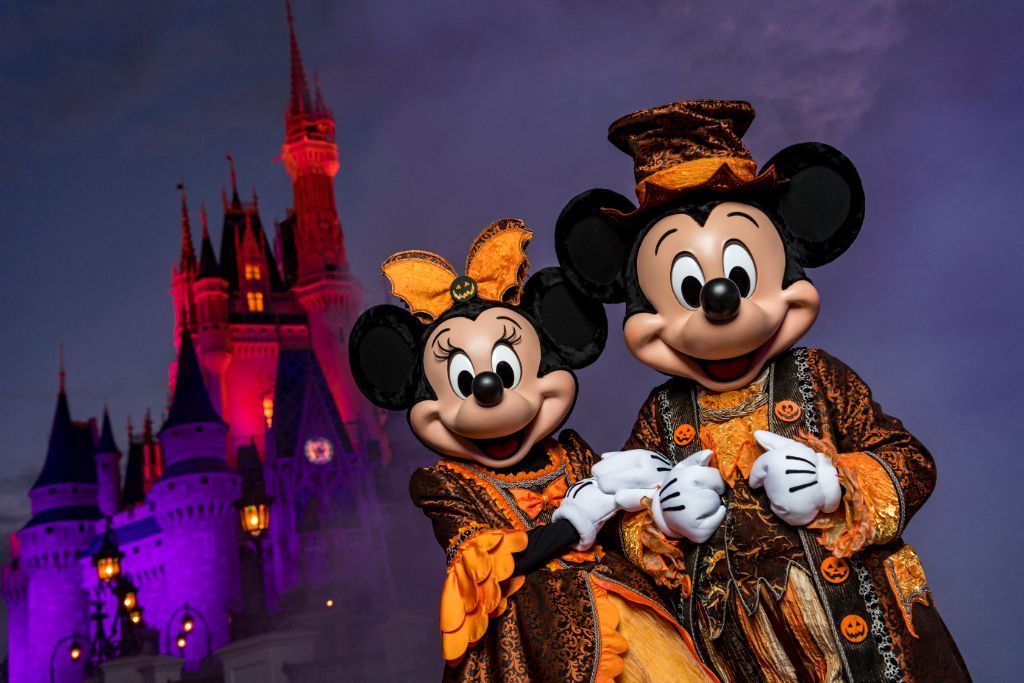 Mickeys Not-So-Scary Halloween Party Transforms Magic Kingdom After Dark