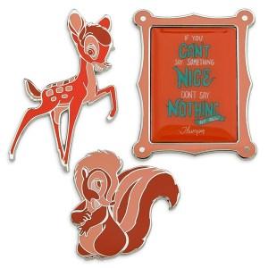 Disney Wisdom Pin Set Bambi