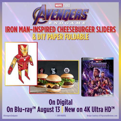 Iron Man-Inspired Slider Recipe and DIY
