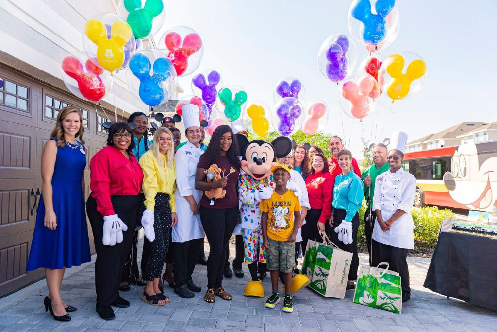 Mickey Mouse Surprises Jermaine Bell