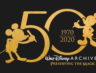 walt disney archives 50th