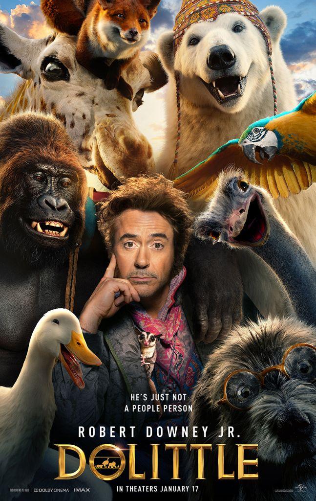Robert Downey Jr. is DOLITTLE – New Trailer