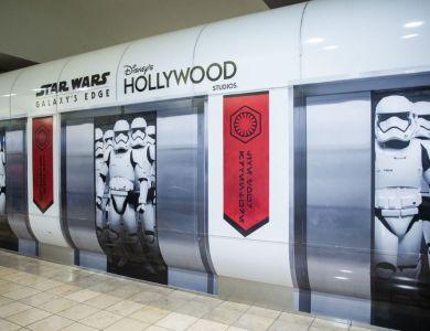 Star Wars: Galaxy's Edge Installation at Orlando International A