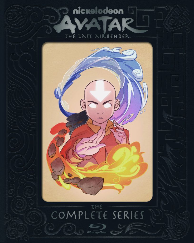 Avatar: The Last Airbender The Complete Series 15th Anniversary Steelbook