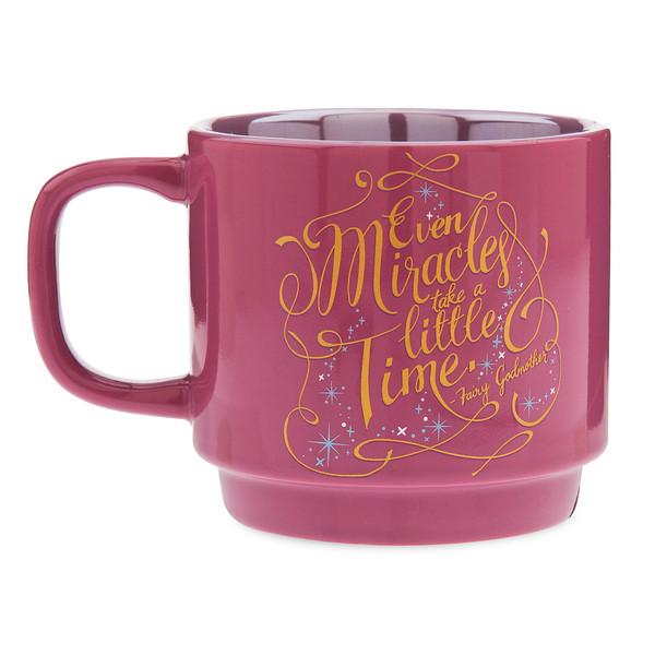 Disney Wisdom Mug Fairy Godmother front