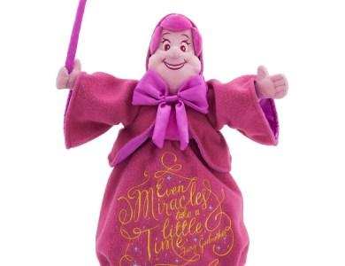 Disney Wisdom Plush Fairy Godmother