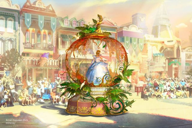 """Magic Happens"" Parade at Disneyland Park"