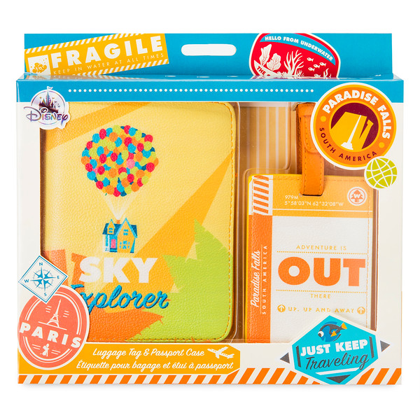 Up Luggage Tag Passport Case - Oh My Disney