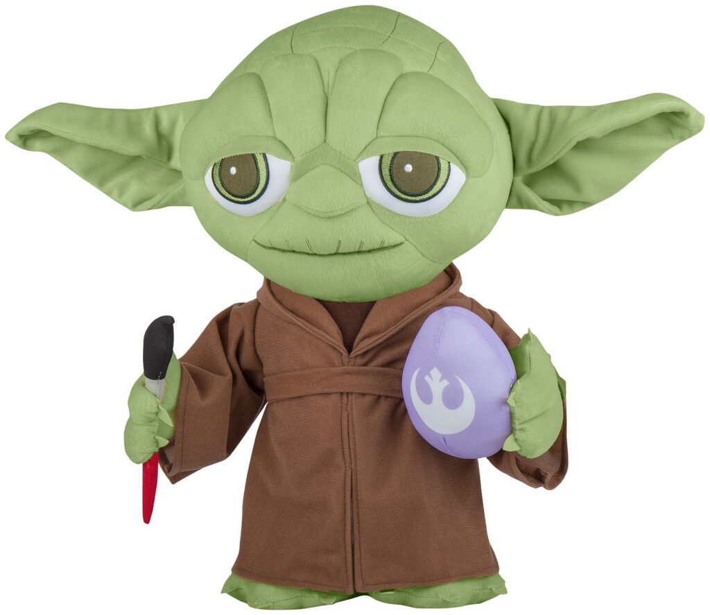 Easter Greeter Yoda Painting Egg Star Wars