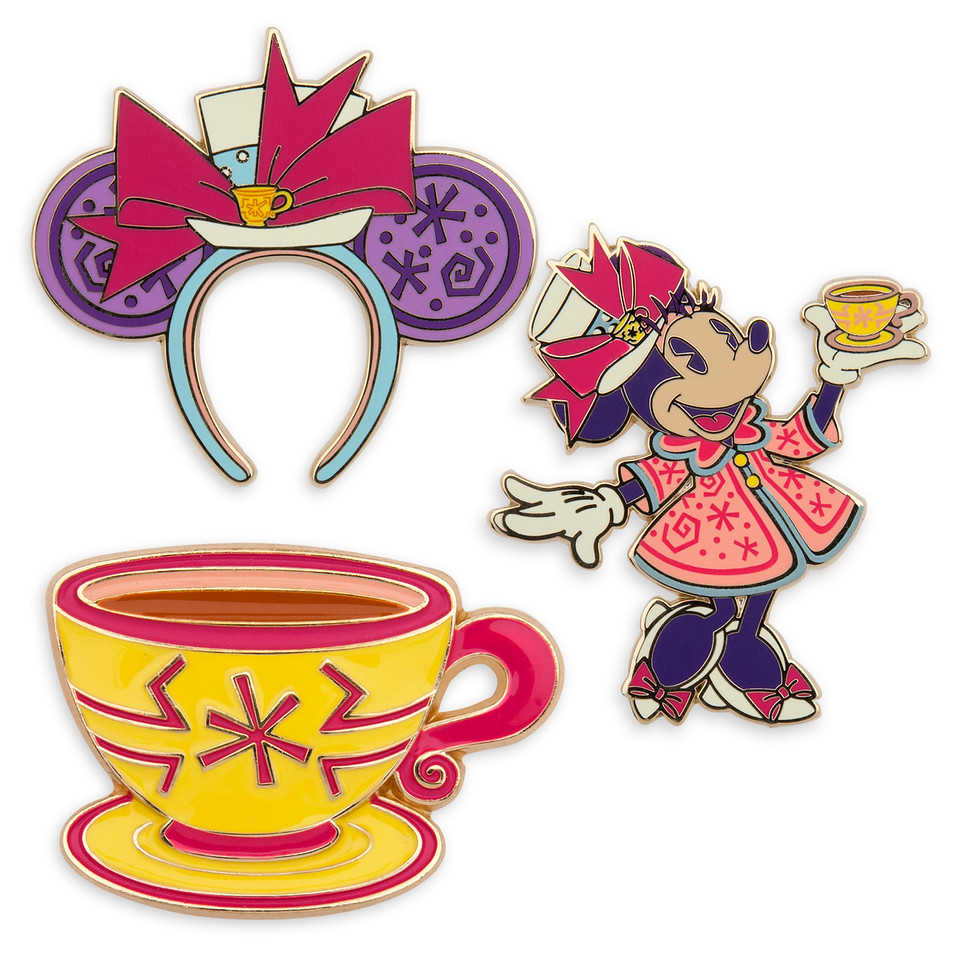 Minnie Mouse- The Main Attraction March Collection pin set