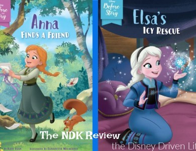before the story Anna & Elsa