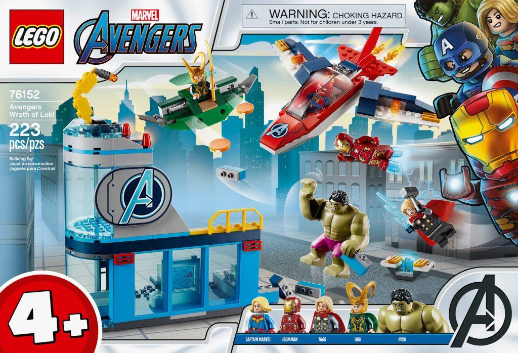 LEGO® Marvel Avengers Wrath of Loki Building Kit